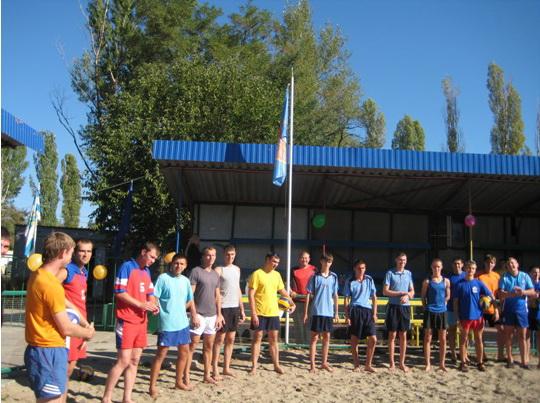 2012 год - турнир по пляжному волейболу
