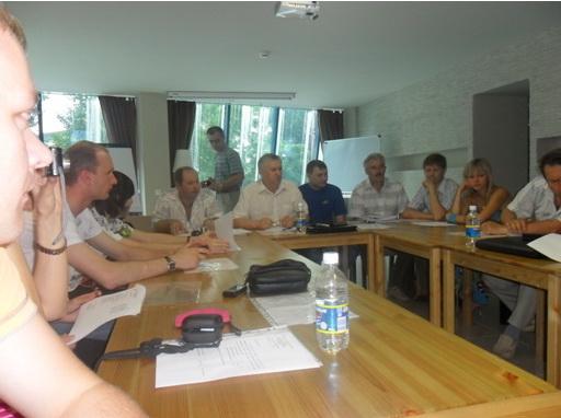 Семинар молодёжного Совета областной организации профсоюза в городе Таганроге
