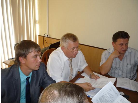 Заседание Президиума обкома профсоюза