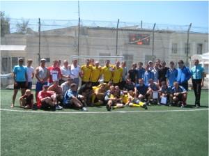 Турнир по мини футболу среди молодёжных Советов областной организации профсоюза ПРОФАВИА в 2012 году