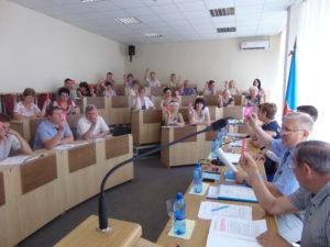 Заседание Обкома Профсоюза